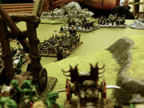 Oldhammer Battle - Undead vs Orcs & Goblins