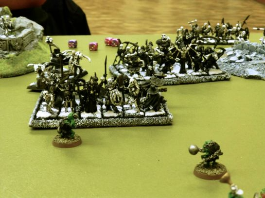 Oldhammer Battle - Undead vs Orcs & Goblins