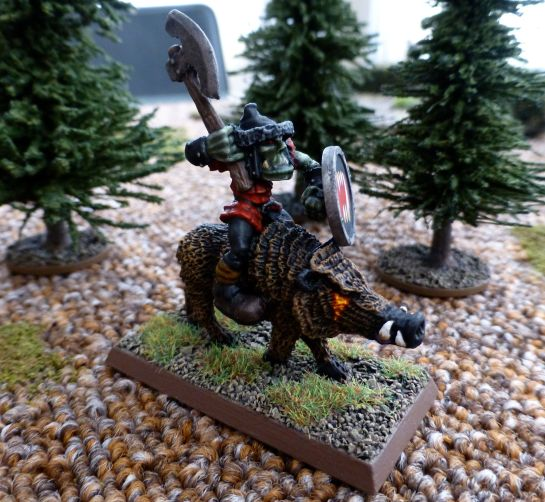 Oldhammer Orc Snorta conversion