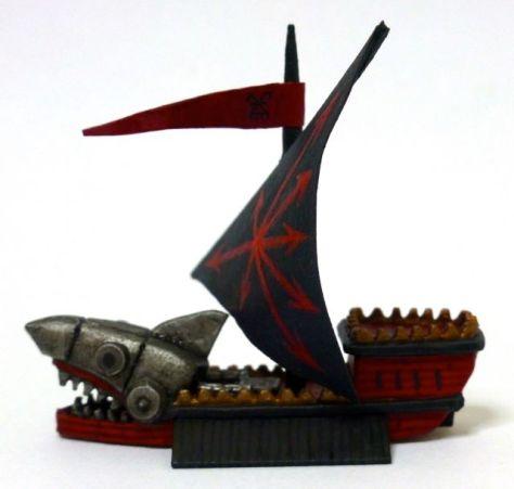 Man O'War Ironshark of Khorne