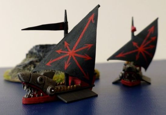 Ironsharks of Khorne for Man O'War