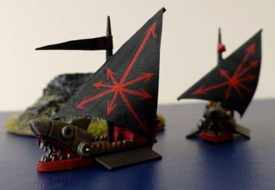 Ironsharks of Khorne for Man O'War