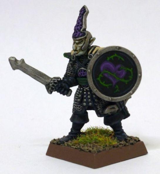 Oldhammer Dark Elf from Mengil Manhide's Company