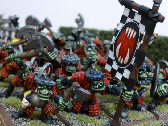 Oldhammer Orc Regiment by Marauder Miniatures