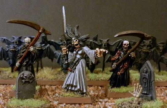 Banshee and Cairn Wraiths