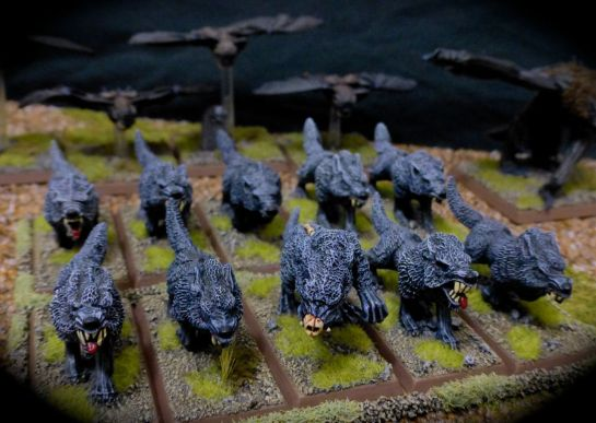 Dire Wolves of the Vampire Counts