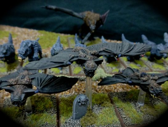 Fell Bats of the Vampire Counts