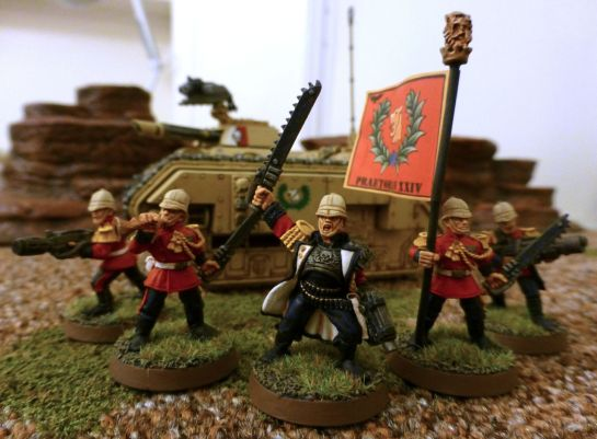 Warhammer 40k Imperial Guard Praetorian Command HQ