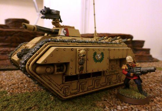 Warhammer 40k Imperial Guard Praetorian Command Chimera