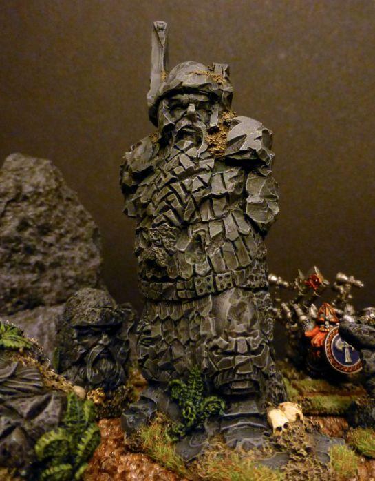 Scibor statues for Warhammer Dwarfs