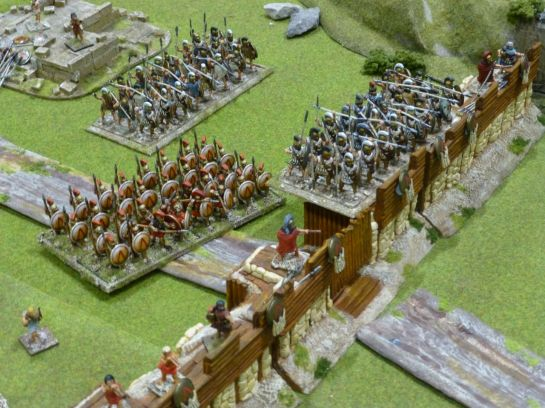 Salute 2014 - Greeks vs Persians by Scarab Miniatures