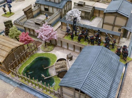 Salute 2014 - Battle of the Castle Walls by Oshiro Model Terrain