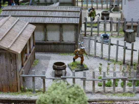 Salute 2014 - Battle of the Castle Walls by Oshiro Model Terrain