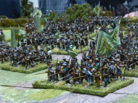 Salute 2014 - Battle of Arklow 1798 by Wargames Illustrated