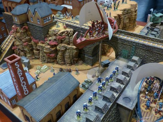 Salute 2014 - Flight to New Victoria by Red Planet Miniatures