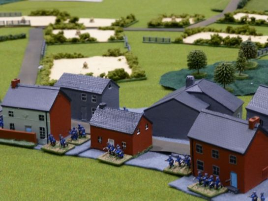 Salute 2014 - Action at Longlier by Oxford Wargames Society