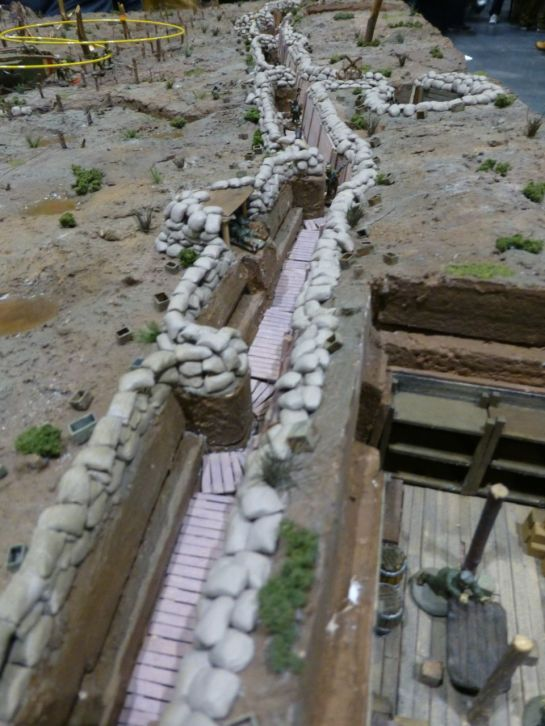 Salute 2014 - Night Trench Raid by Hornchurch Wargames Club