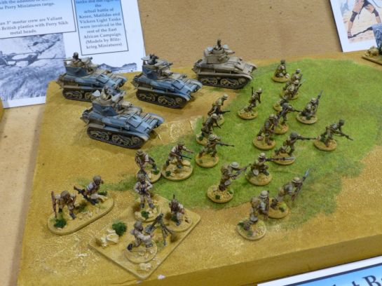 Salute 2014 - Battle for Keren by Newark Irregulars