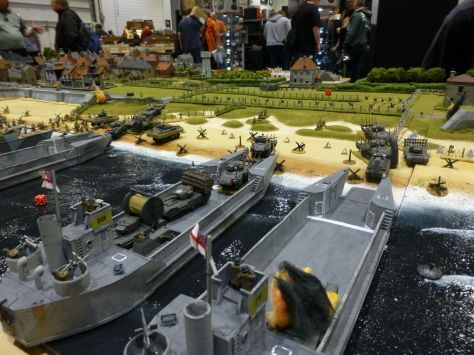Salute 2014 - Sword Beach D-Day 1944 by Honnington Wargame Group