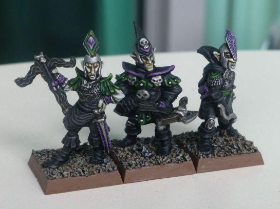 Oldhammer Dark Elf crossbowmen