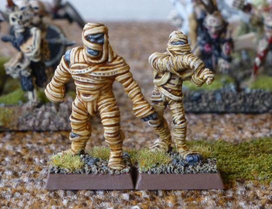 Warhammer Undead Mummies for Oldhammer