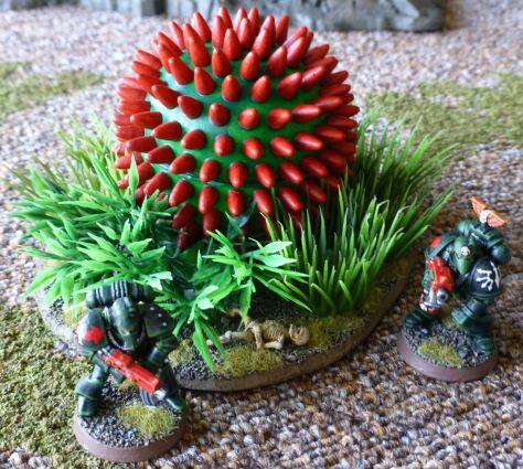 Warhammer 40k death world jungle terrain