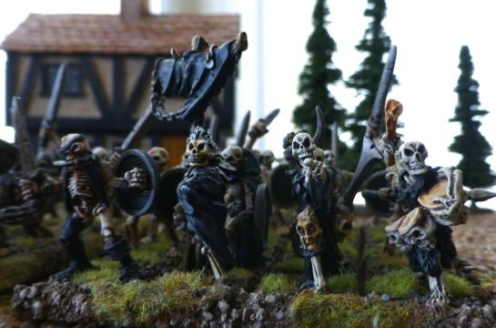 Warhammer Undead Skeleton Regiment for Oldhammer