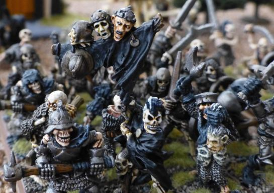 Warhammer Undead Skeleton Banner for Oldhammer