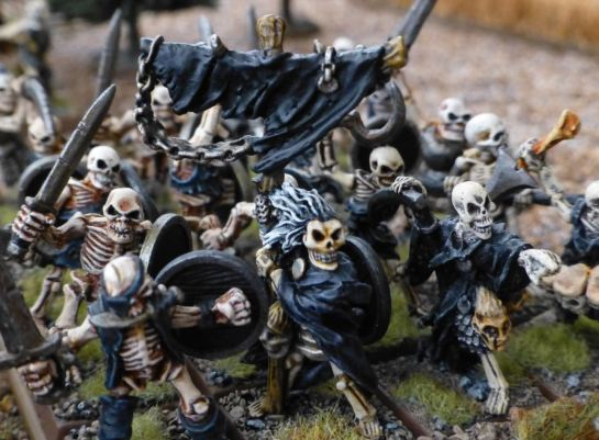 Warhammer Undead Skeleton Standard for Oldhammer