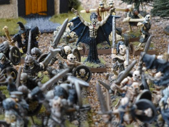 Warhammer Undead Vampire and Skeletons for Oldhammer