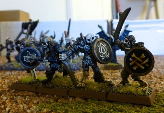 Warhammer Undead Armoured Skeletons for Oldhammer
