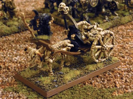 Warhammer Undead Plague Cart for Oldhammer