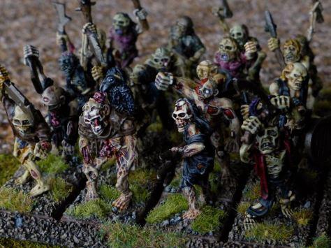 Warhammer Undead Zombie Regiment for Oldhammer