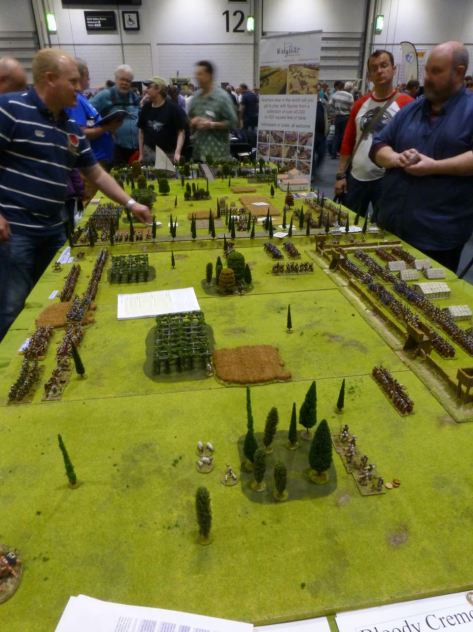 The battlefield at Cremona in 69 AD
