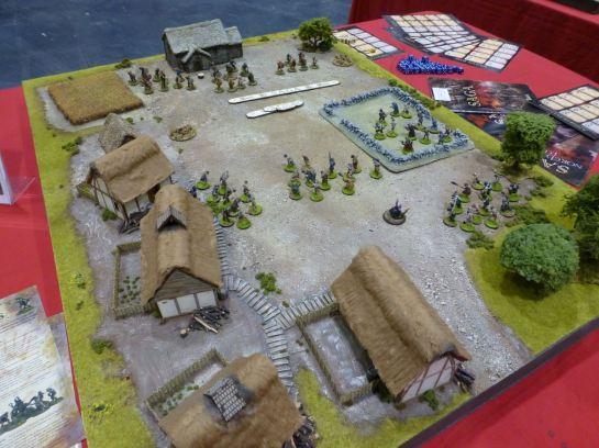 Games table for Saga at Salute 2015