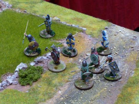 Dark Age warriors for Saga at Salute 2015