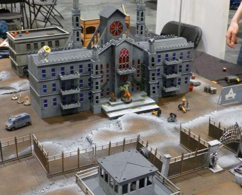The Arkham Asylum compound