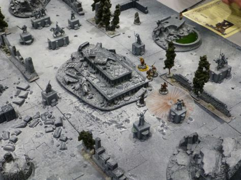 A game of Frostgrave at Salute 2015