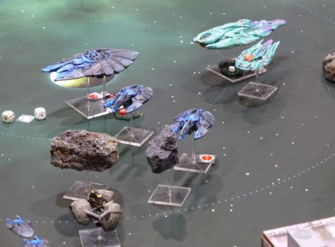 Halo Fleet Battles by Spartan Games