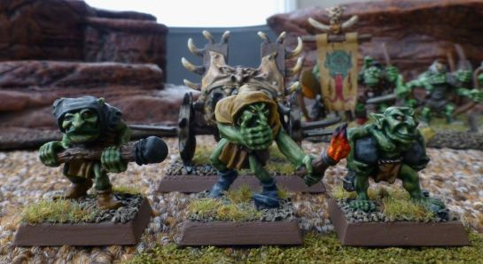 Goblin crewmen for the Lead Belcher