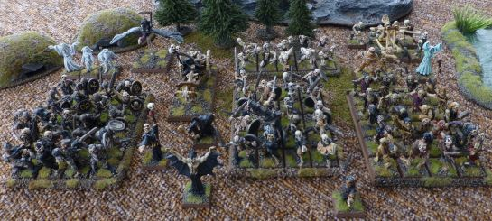 Warhammer army of the Undead for Oldhammer