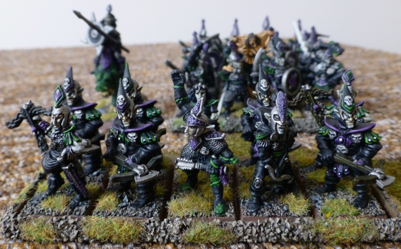 10 strong detachment of dark elves with crossbows