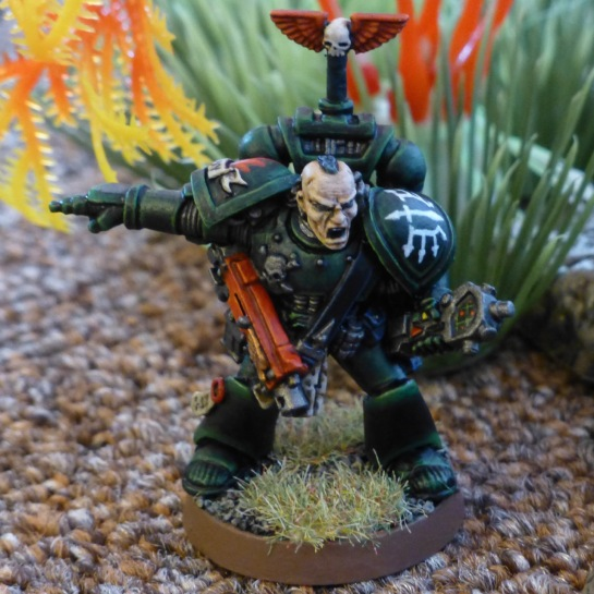 Dark Angels Space Marines Devastator Sergeant