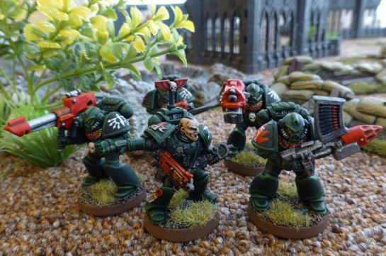 Dark Angels Space Marines Devastator Squad