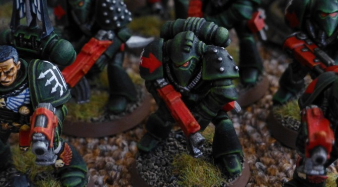 Dark Angels Tactical Squad Sariel