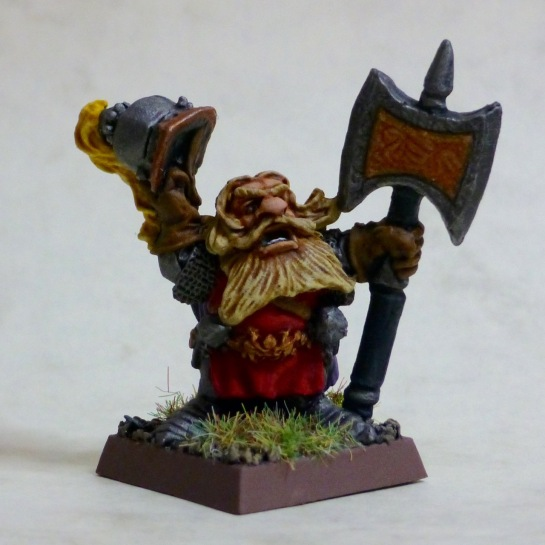 Imperial Dwarf Prince Ulther, leader of the Dragon Company