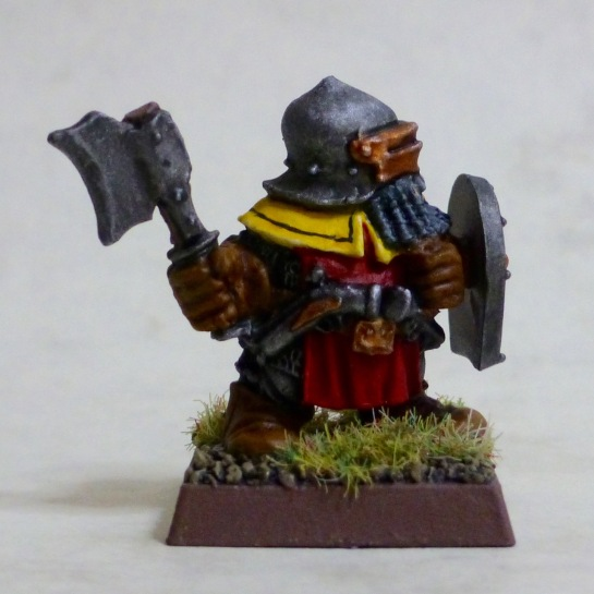 Dwarf trooper of the Dragon Company