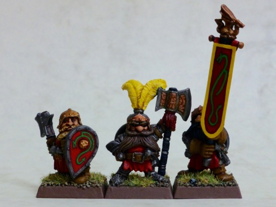 Borri Forkbeard, standard bearer and trooper of the Dragon Company