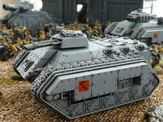 Chimera tank with a multilaser turret