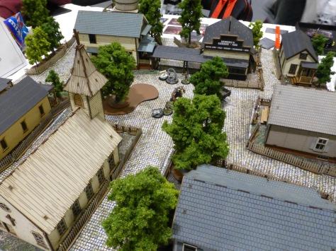 Small 1920s American townscape